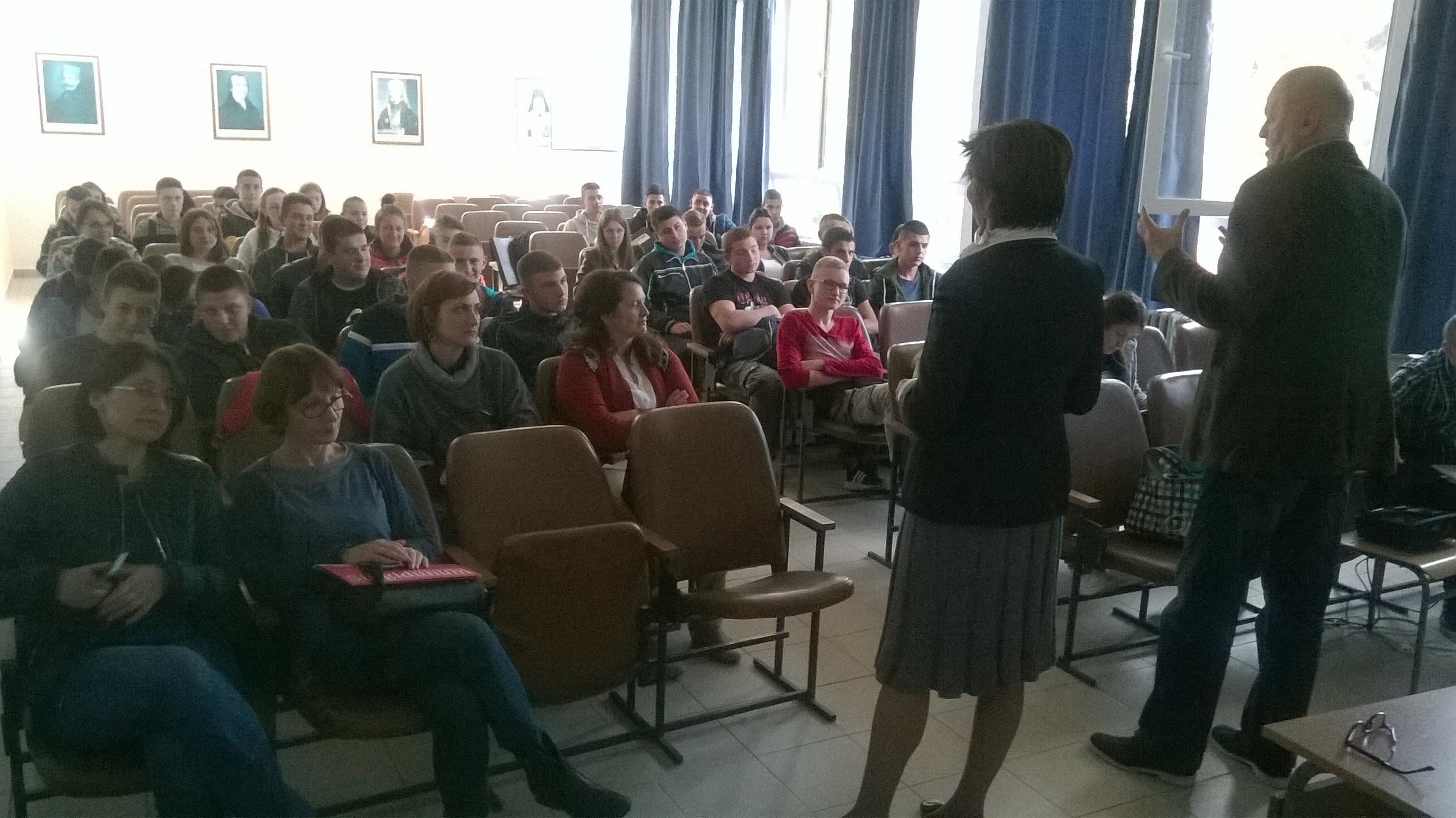 Info sesija u Tehničkoj školi u Vlasotincu